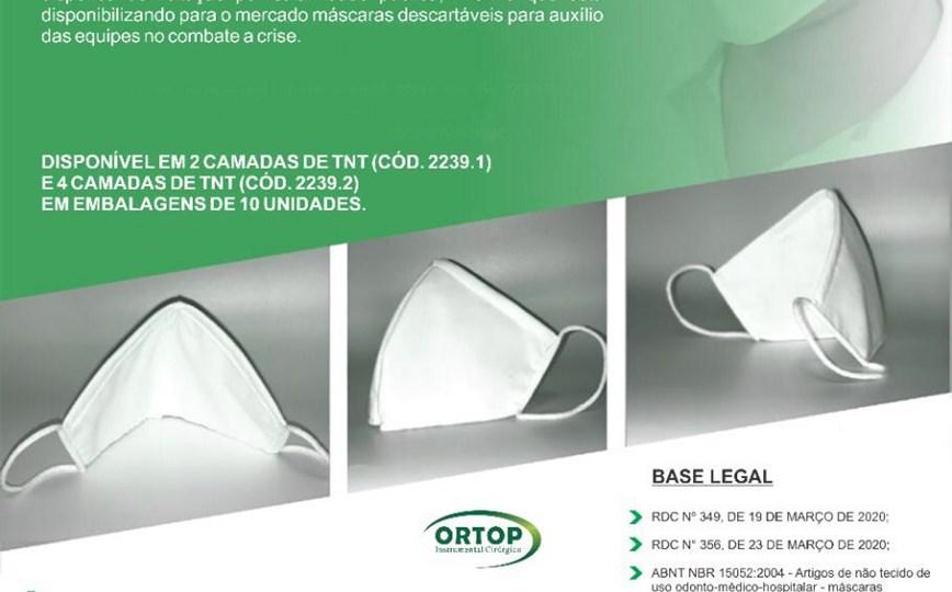 máscaras TNT para proteção facial