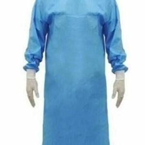 Avental cirúrgico estéril com reforço